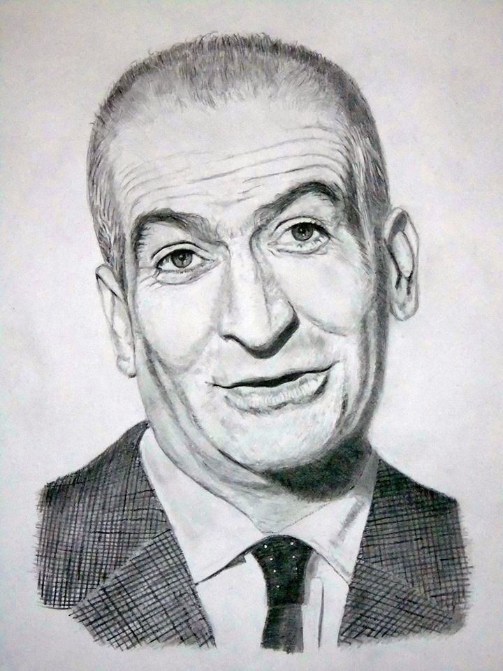 Louis de Funès by JFG